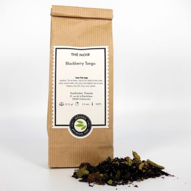 Blackberry tango thé noir