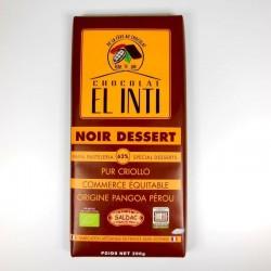 Chocolat noir dessert