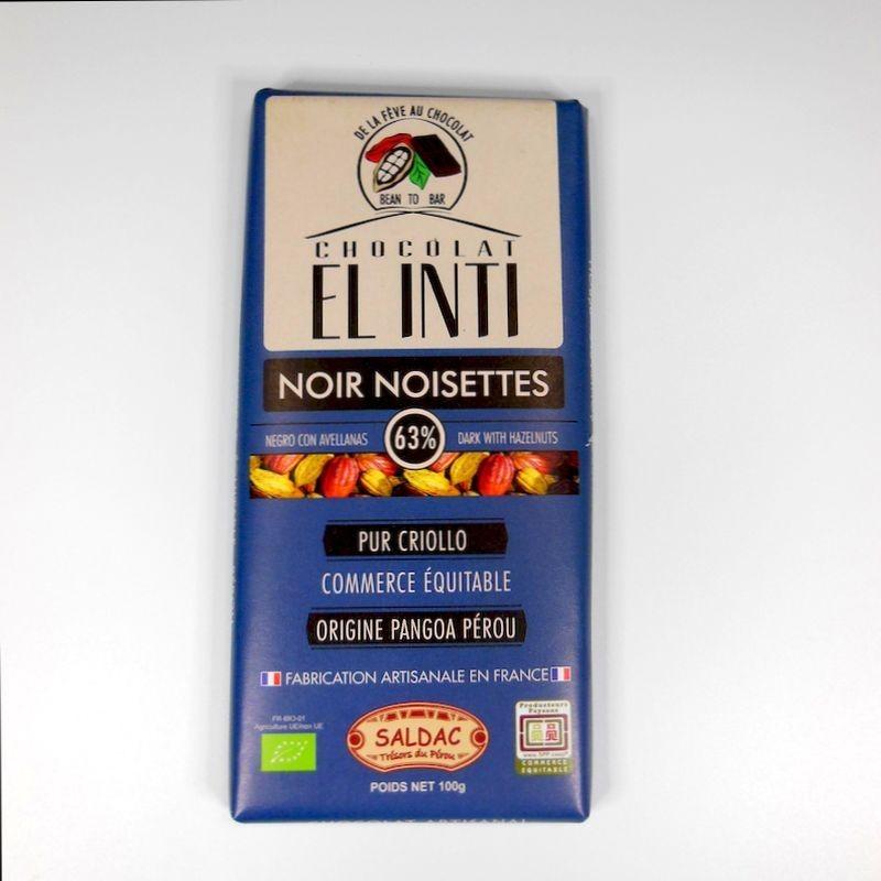 Chocolat noir noisettes