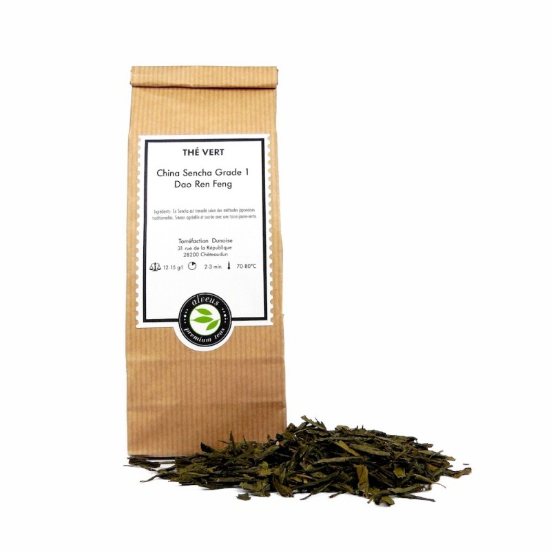 thé vert china sencha grade 1