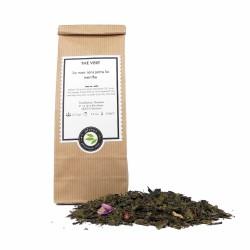 thé vert  rose menthe