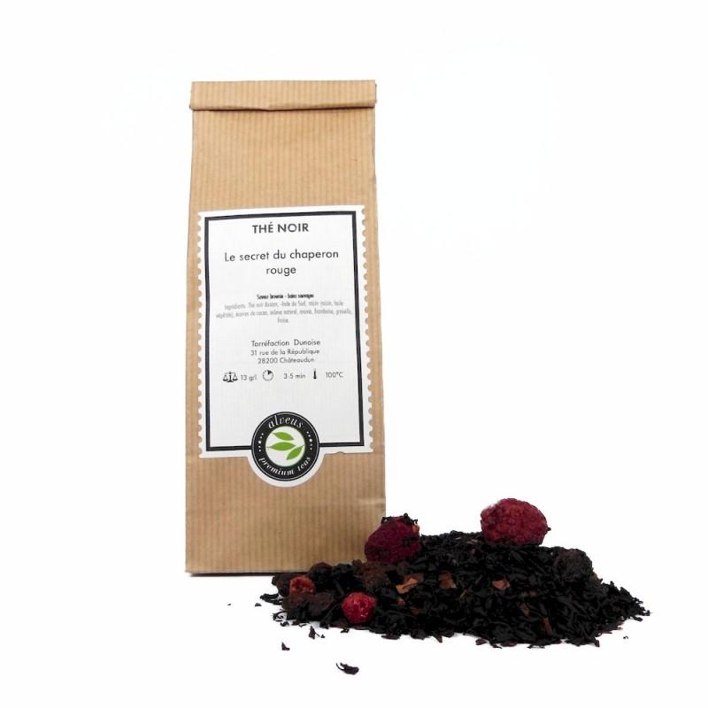 thé noir secret chaperon rouge
