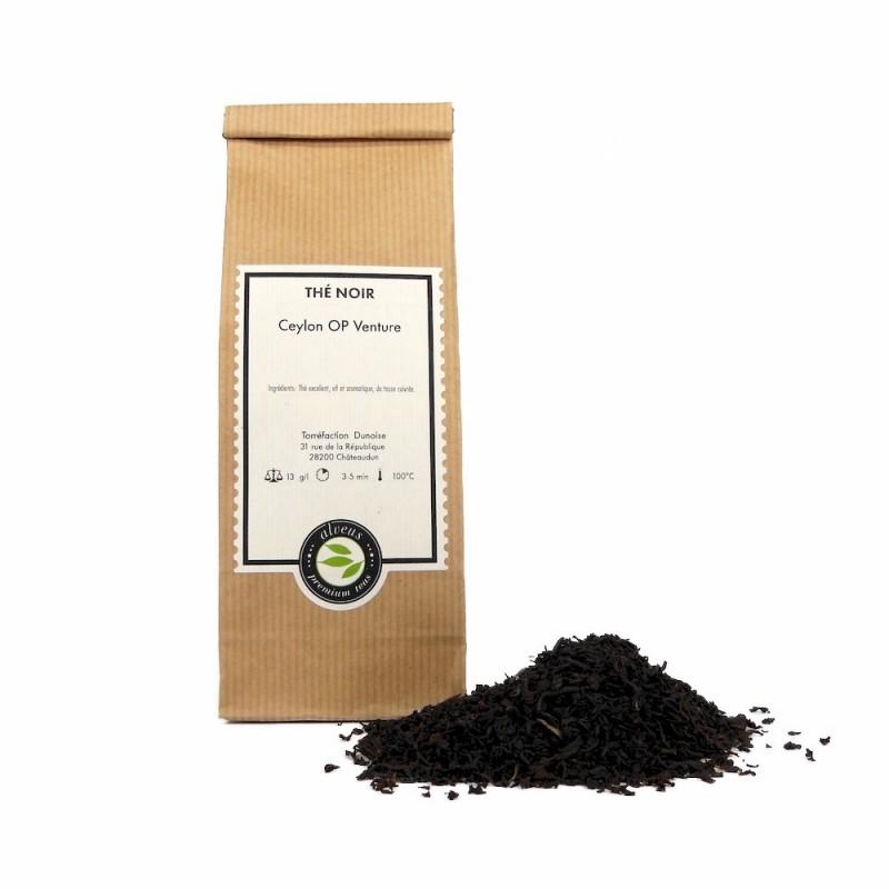 thé noir Ceylan OP venture