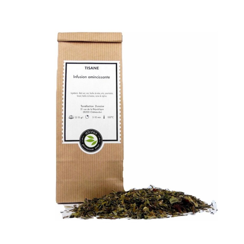 Tisane infusion amincissante