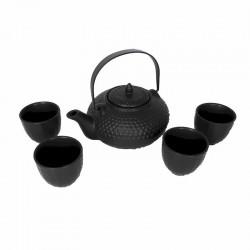 Service thé  céramique style fonte