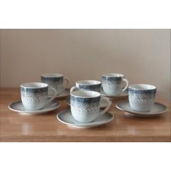 6 tasses à café