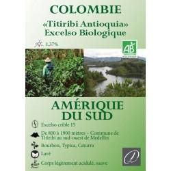 Café Colombie Titiribi bio
