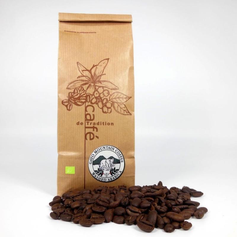Café Indonésie Sumatra Mandheling bio