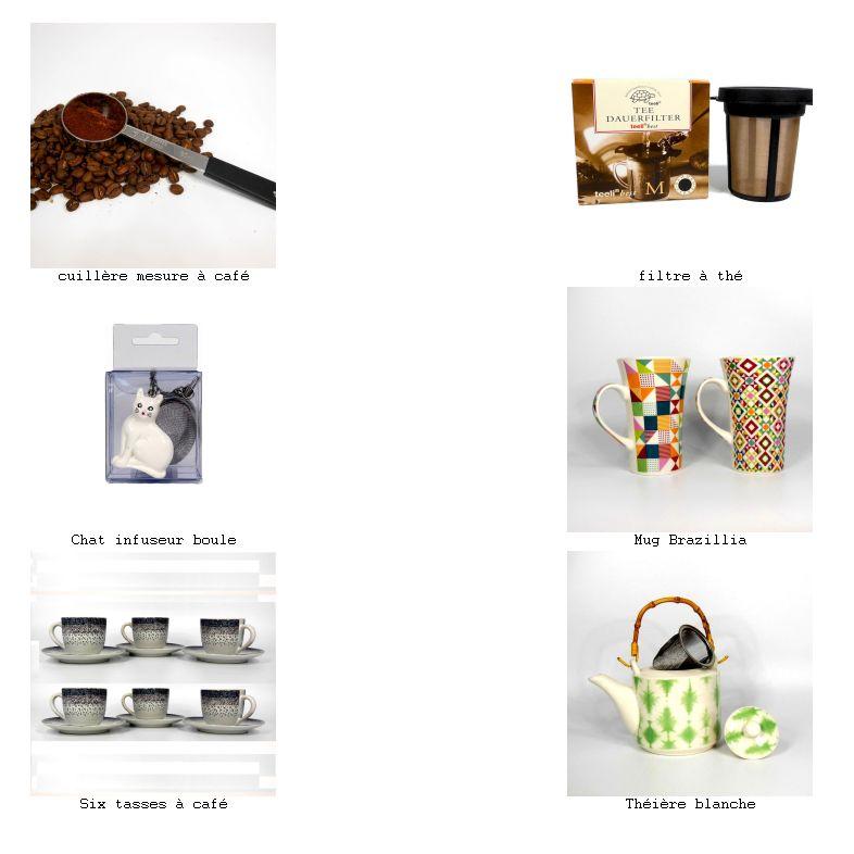 Vaisselle et accessoires pour le thé et le café